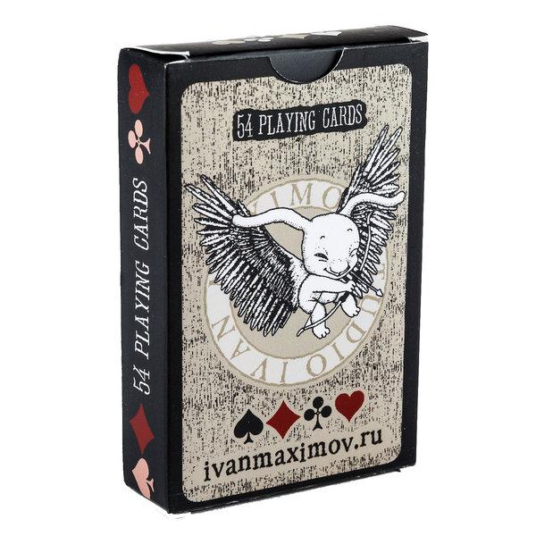 Авторские игральные карты отИ.Максимова с автографом + открытка в подарок
