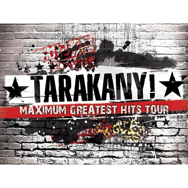 """Тараканы!"": задник Maximum Greatest Hits Tour 2014"