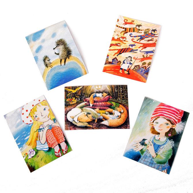 Набор открыток от издательства «Настя и Никита»