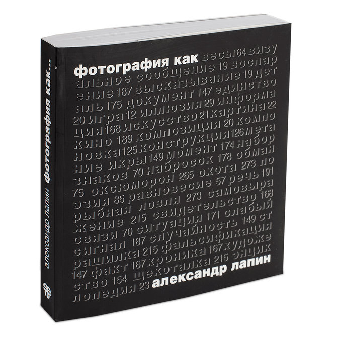 Книга Александра Лапина «Фотография как»