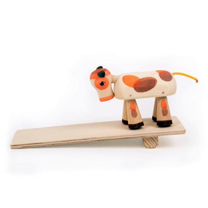 Деревянная игрушка «Бычок»